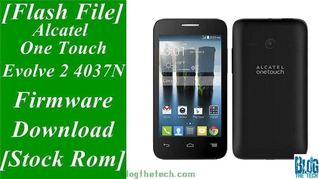 Alcatel One Touch Evolve 2 4037N