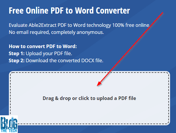 Converting PDF to DOCX
