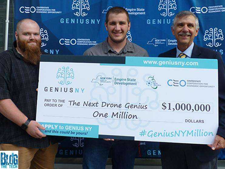 GENIUS NY Drone Startup Competition Accepting Applications until Oct 14