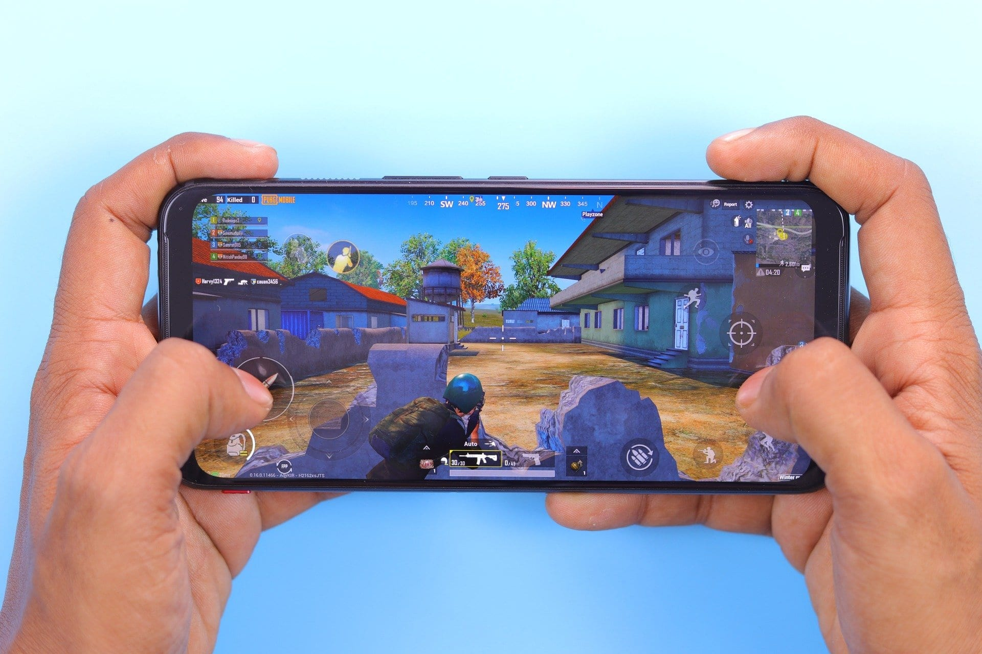 Gaming on Android Smartphone