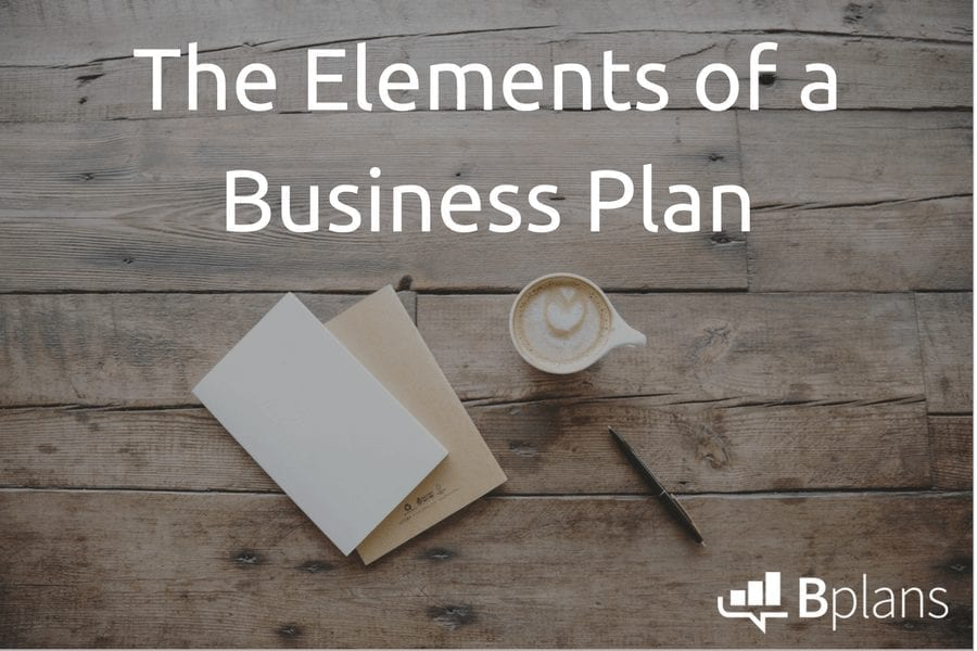How to write a standard business plan