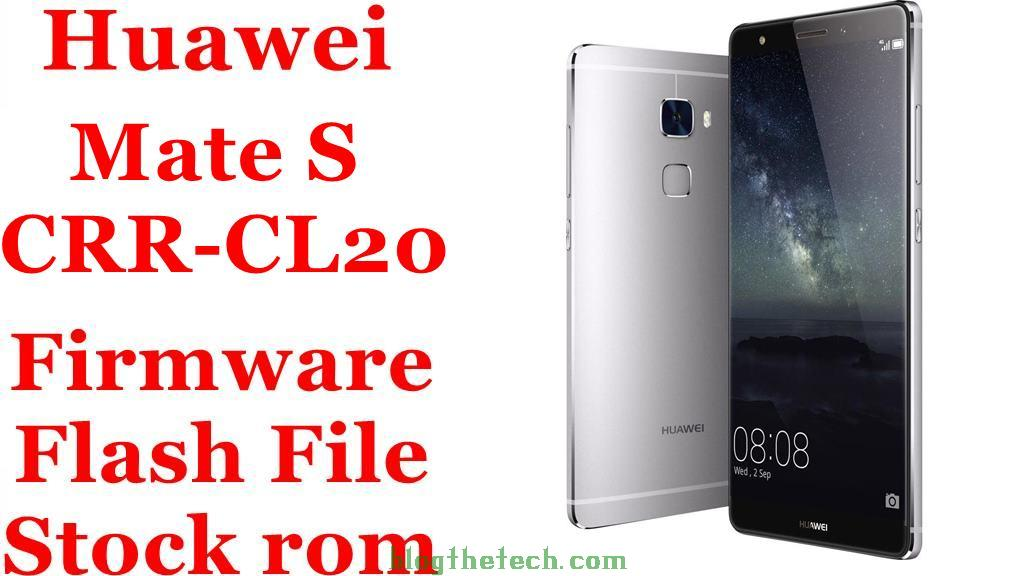 Huawei Mate S CRR CL20
