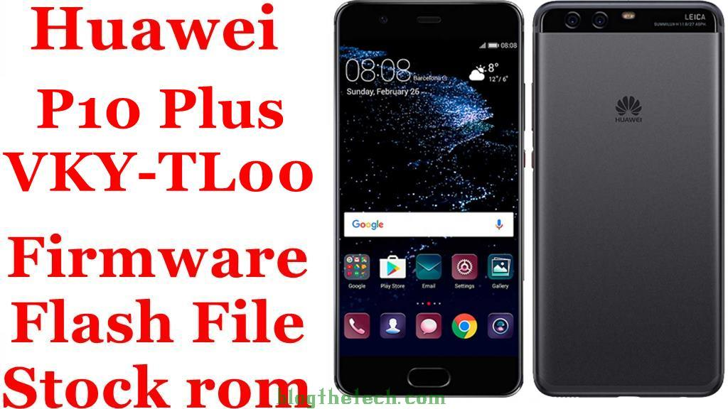 Huawei P10 Plus VKY-TL00 Firmware