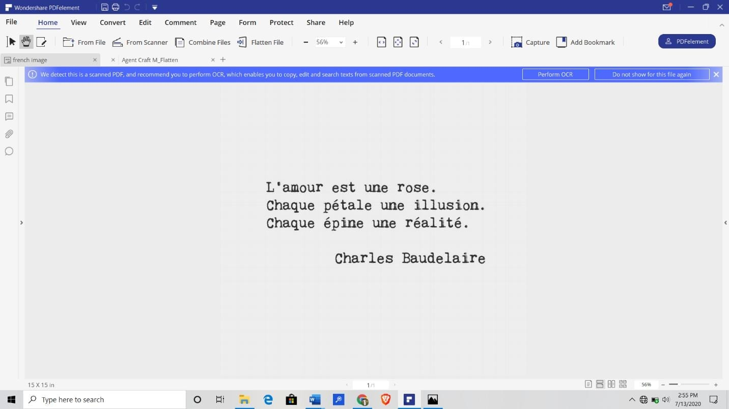extract text from pdf image offline or online