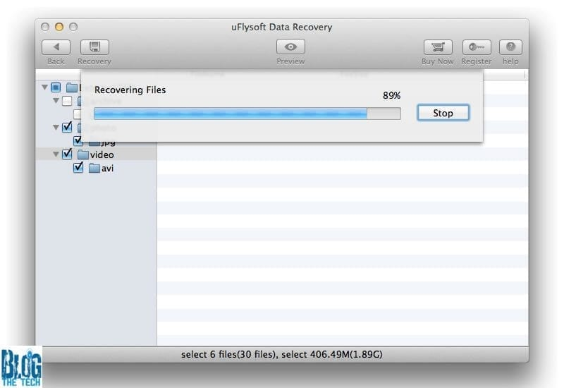 uFlysoft Data Recovery for Mac