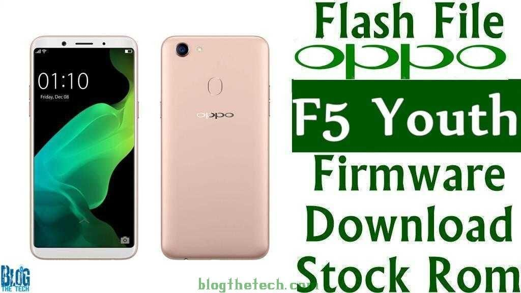 Oppo F5 Youth CPH1725 Firmware