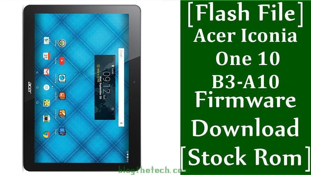 Acer Iconia One 10 B3 A10
