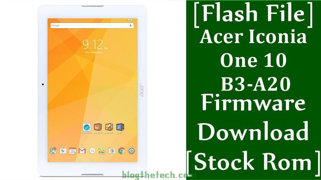 Acer Iconia One 10 B3 A20