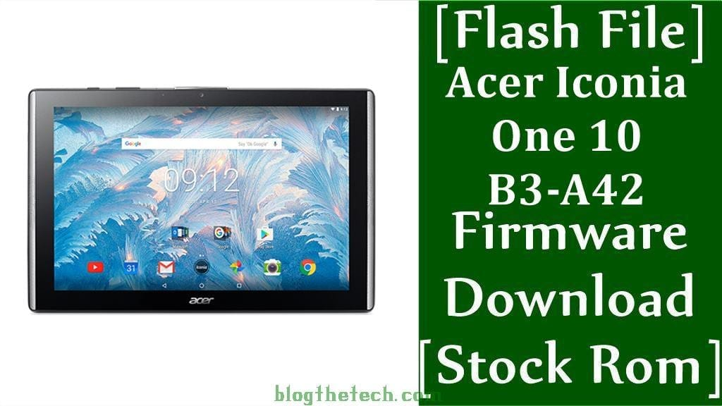 Acer Iconia One 10 B3 A42