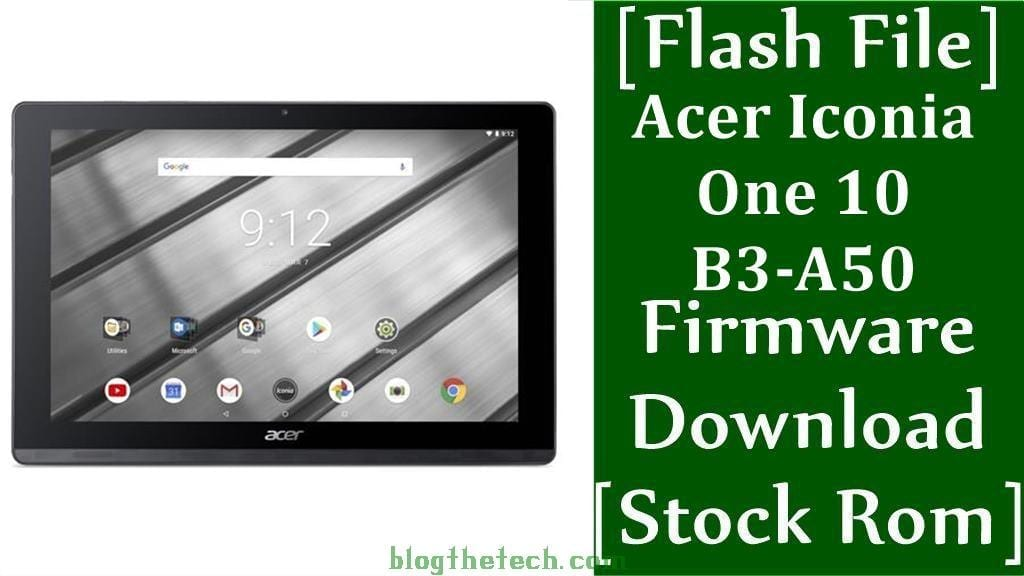 Acer Iconia One 10 B3 A50