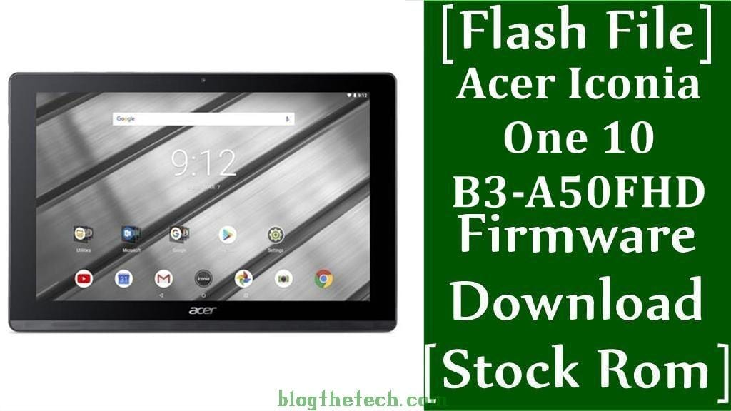 Acer Iconia One 10 B3 A50FHD