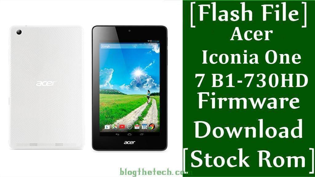 Acer Iconia One 7 B1 730HD