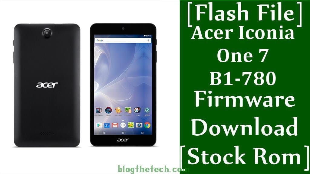 Acer Iconia One 7 B1 780