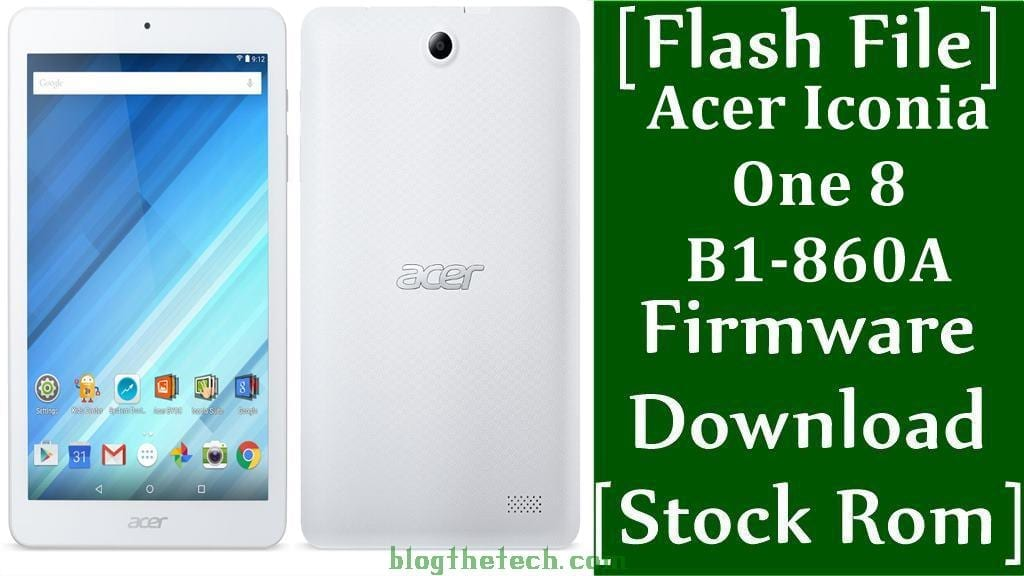 Acer Iconia One 8 B1 860A