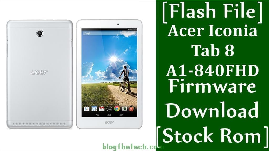 Acer Iconia Tab 8 A1 840FHD