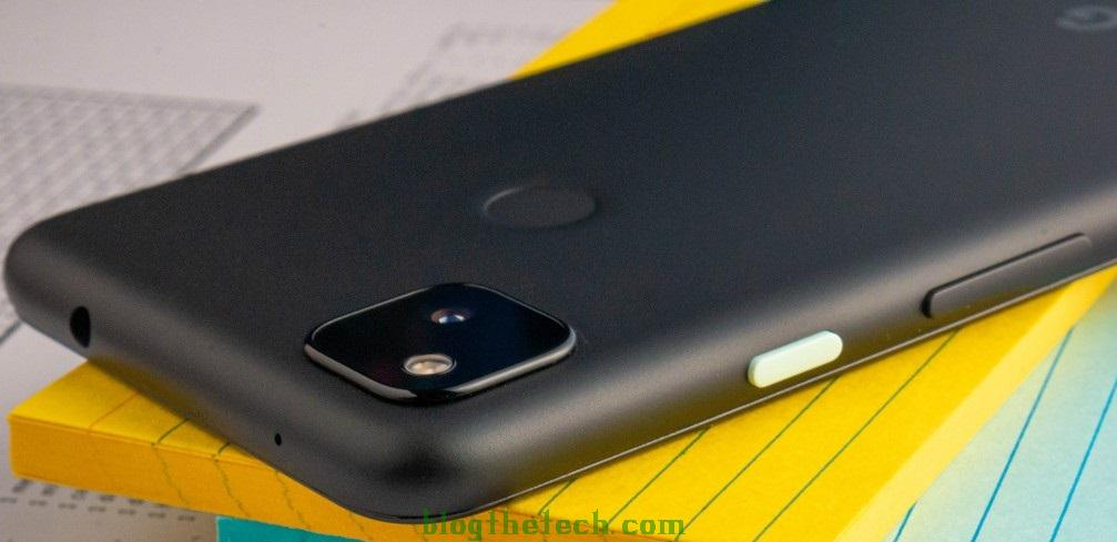 Google Pixel 4a analysis small but only in size 1