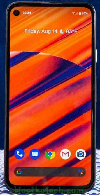 Google Pixel 4a analysis small but only in size 2