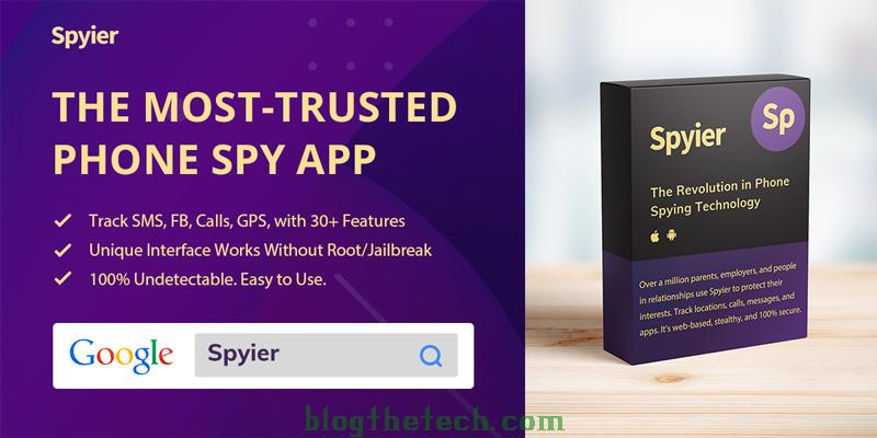 Spyier The recommended surveillance app