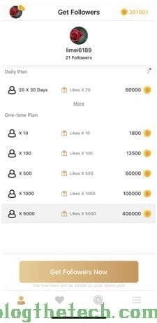 choose Daily Plan to get Instagram followers and likes every day