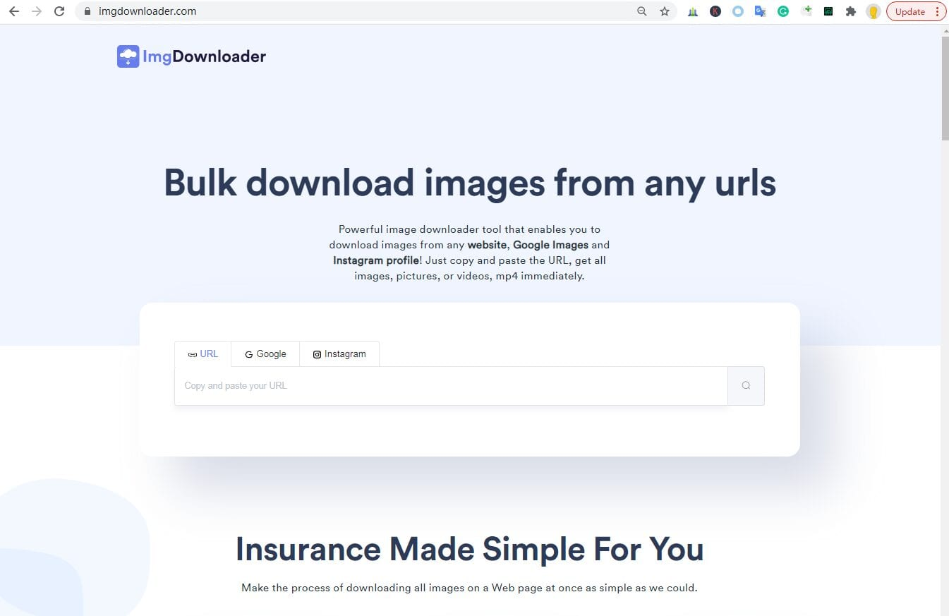 Overview of IMG Downloader